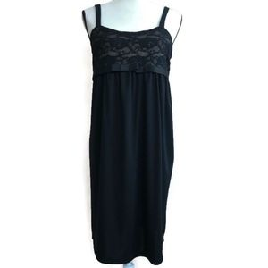 Duo Maternity Small Black Cocktail Party Dress